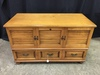 Vintage Lane Cedar Chest W/ Lift Lid & Pull-Out Drawer