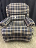 Smith Brothers Tilt-Back, Wing Back Upholstered Chair