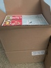 (2) Boxes Of Kids Cafeteria Placemats,  Cafeteria