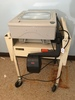 3-M Overhead Projector On Wheeled Cart, Cafeteria