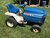 Ford 145 Garden Tractor W/Mower & Snow Plow Blade Image 1