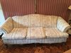 3-Cushion Couch On Wooden Legs