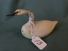 "Small Wooden Goose Signed ""Vern"" On Bottom"