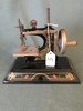 Antique Child's Sewing Machine By Casige-Made In British Zone Germany
