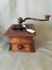 Early Cast Iron & Wood Coffee Mill