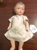 """1950's Era Japaneese Doll Is 9"""" Tall *Damage On Left Thumb*"""