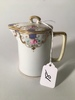 """Hand Painted Nippon Lidded Creamer Is 4.25"""" Tall"""