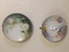 (4) Hand Painted Plates-Nippon & Germany