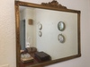 """Gold Framed Wall Mirror Is 27"""" x 32"""""""