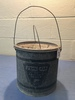 "Vintage Falls City Minnow Bucket, 9"" Tall"