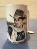 "R.J. Ernst 1981 John Wayne Stein ""That was my drink partner"" 6.5"" Tall"