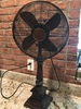 Antique Look Oscillating 3-Speed Fan-Working!