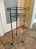 "Iron Plant Stand Is 28"" Tall"