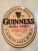 Guinness Extra Stout Oval Advertising Signs