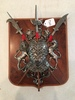 Wall Plaque W/Knight Breastplate & Swords