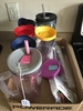 Group Of Tervis Drink Cups & Straws