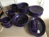 (20) Pcs. Reproduction Fiesta China-Purple Color