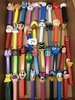 Large Flat of Pez Dispensers