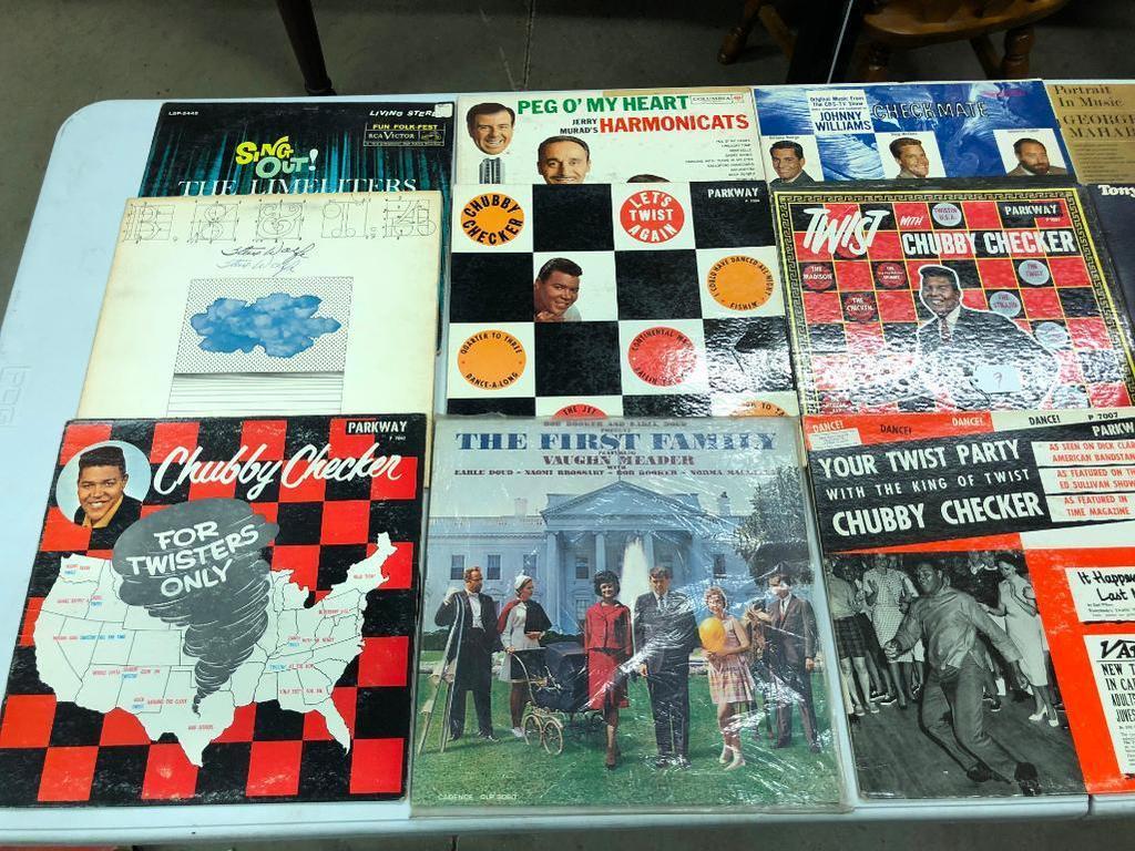 Lot: Group of 15 Classic Rock LP, 33 1/3 | Proxibid Auctions