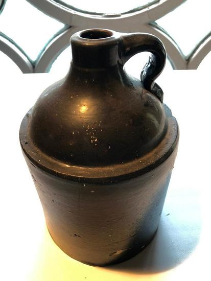 Antique 1 Gal. Stoneware Jug-Painted