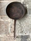 Large Antique Iron Skillet