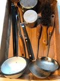 Group Of (8) Vintage Kitchen/Household Utensils