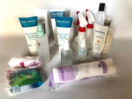 Professional Spa Products, Partially Used
