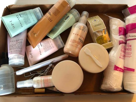 Professional Spa Products, Partially Used, Pedicure and Manicure Items