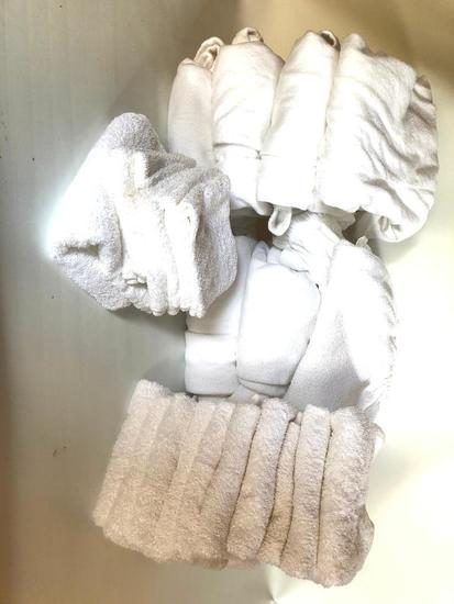 Spa Linen and Towels, Used in Small Spa