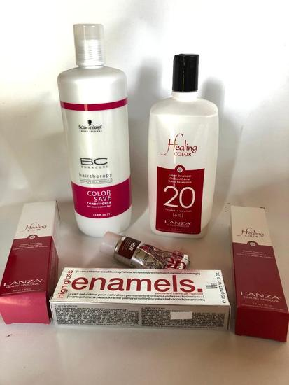 Hair Therapy Products, Some are Partially Used