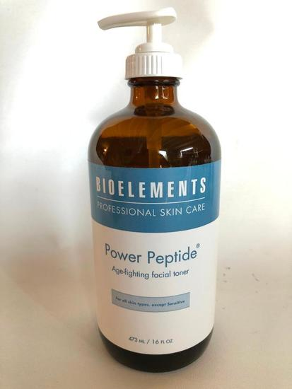 Bioelements Facial Toner, Power Peptide, Full, Not Sealed, May have been used