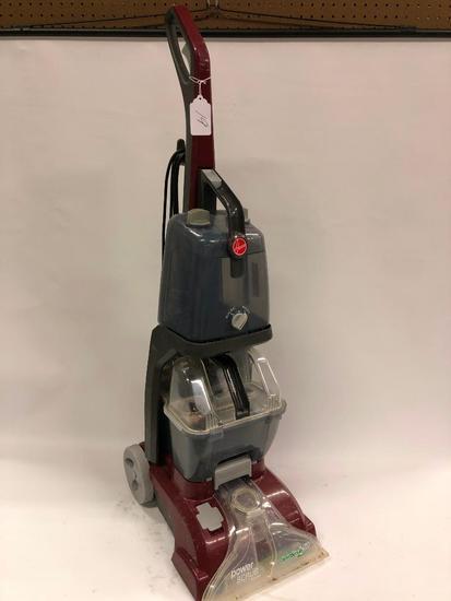 Hoover Power Scrub Upright Sweeper