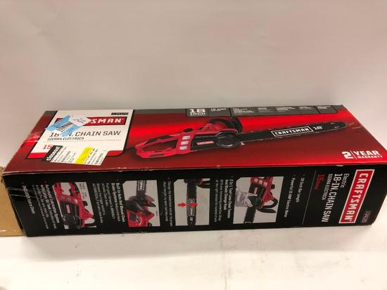 "Craftsman 18"" Electric Chainsaw"