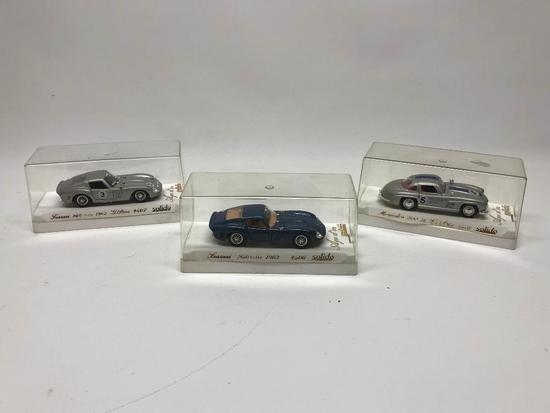 (2) Solido Diecast Cars