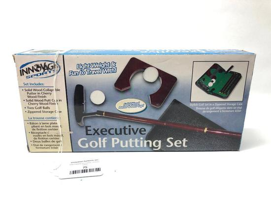 Innovage Sports Executive Golf Putting Set In Box
