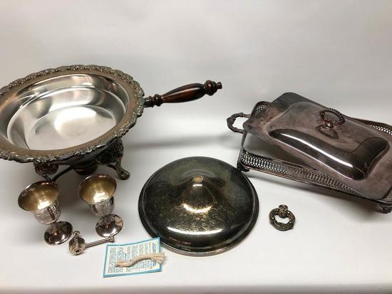 Misc. Silverplate Items