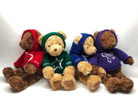 (4) Gund Millennial Bears