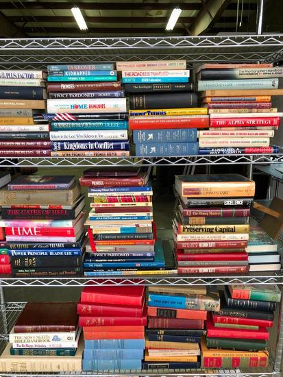 Appox. (100) Hardback Books