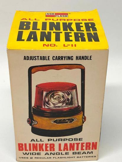 "Vintage ""Blinker Lantern"" In Original Box"