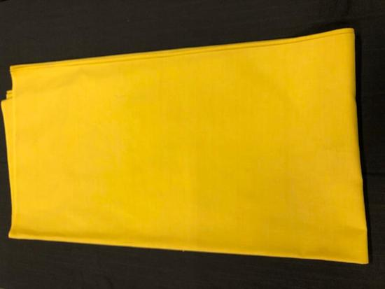 "yellow table cloth 62"" x62"""