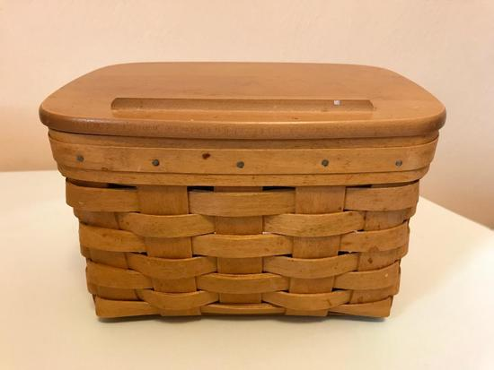 Longaberger Recipe Basket, 2003