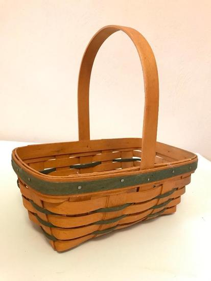 Longaberger Basket, 10 Inches By 6 Inches