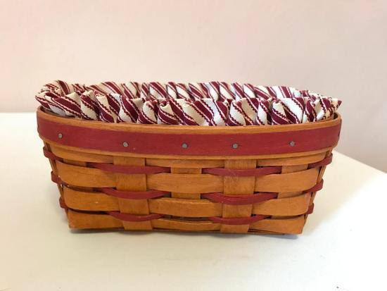 Longaberger Basket, 8 Inches By 5 Inches