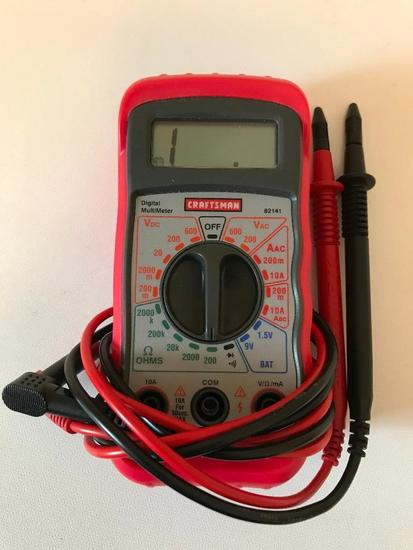 Craftsman Digital Multi Meter