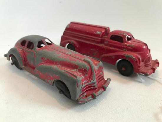 "(2) Vintage ""Manoil"" Vehicles"