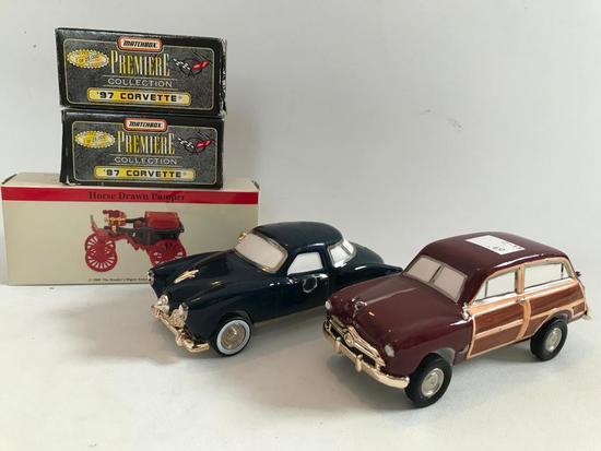 Group Of Die-Cast & Porcelain Cars
