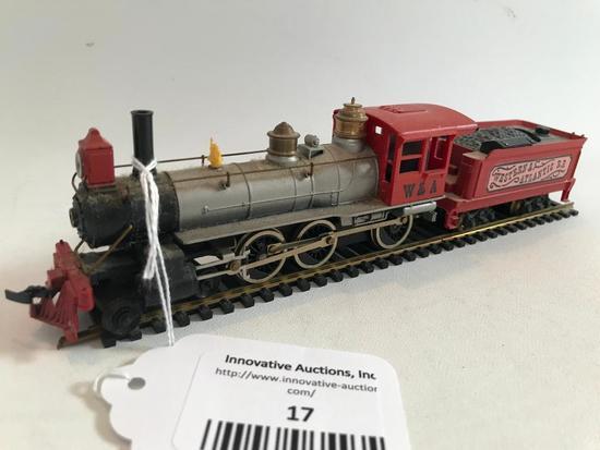 """Western & Atlantic Railroad"" HO Scale Train Engine & Tinder"