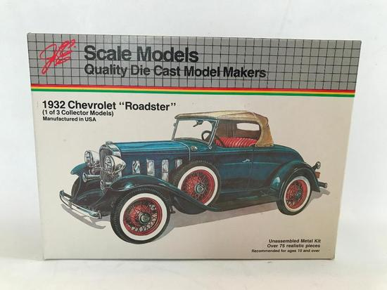 Scale Model 1932 Chevrolet Roadster In Box 1/20th. Scale