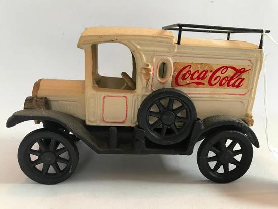 Coca Cola Cast Iron Delivery Truck