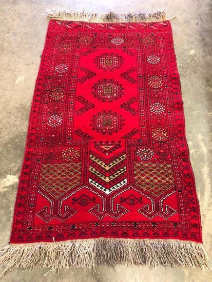 Handmade Pakistan Prayer Rug